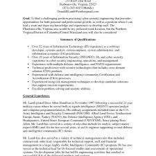 Security Analyst Resume Pdf Summary Examples Informationorces Job