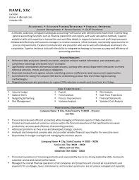 Example Of Accountant Resumes Accountant Resume Example And 5 Great Tips To Writing One