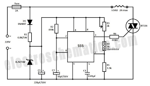 555 temperature controller circuit circuit wiring diagrams temperature controller circuit schematic