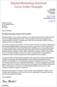 Cover Letter Template Digital Marketing 1 Cover Letter Template