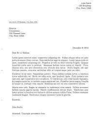 Format Of Official Letter Format Of Official Letters Under Fontanacountryinn Com