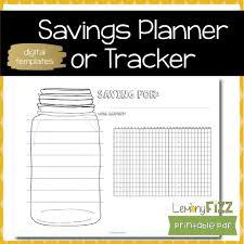 Saving Habit Tracker Bullet Journal Template Or Insert