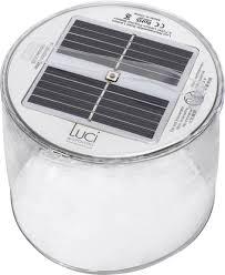 Solar Tafellamp Led Warm Wit Transparant Opblaasbaar