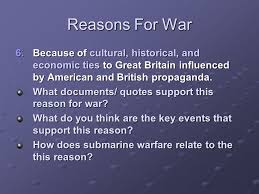Quotes On War Awesome Reasons For War The United States Was Under Attack Despite Its