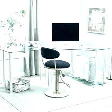 contemporary glass office furniture. Glass Office Desk Modern Contemporary Fascinating Q Home . Furniture