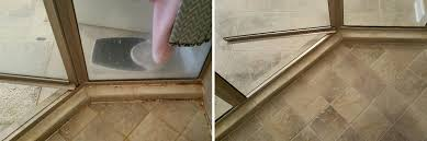 caulking can make or break the appearance of a shower just look at these differences