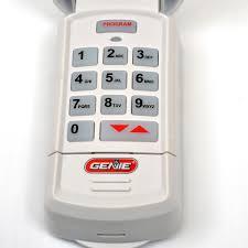 gk bx genie intellicode garage door opener keyless entry 37224r