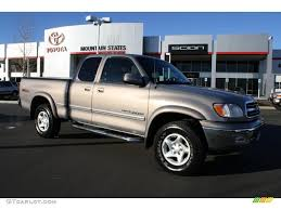 2000 Golden Sand Metallic Toyota Tundra Limited Extended Cab 4x4 ...