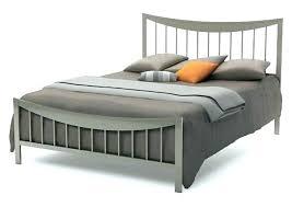 Flat Platform Bed Frame Queen Metal Frames How King Size – Interior ...