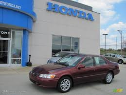 2000 Vintage Red Pearl Toyota Camry XLE V6 #33935502 Photo #3 ...