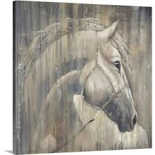 his majesty by liz jardine painting print on canvas on wall art pictures of horses with horse wall art you ll love wayfair