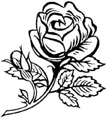 Online Clipart Free Clipart Flower Coloring Pages Download Free Printable And