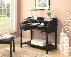 Desk Hutch Organizer Black Image Of Small Black Computer Desk Home ...