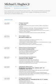 Desktop Support Resume Sample Beauteous It Helpdesk Resumes Vaydileeuforicco