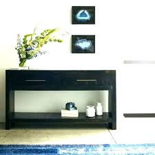 modern entry tables contemporary for foyer round table with storage mid century mo