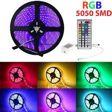 Đèn led dây 5050 12V RGB có keo nhiều màu (NÊN MUA), Ledvinhtien.com