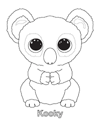 Small Picture Ty beanie boo coloring pages download and print for free Boos