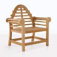 lutyens teak outdoor chair relaxing