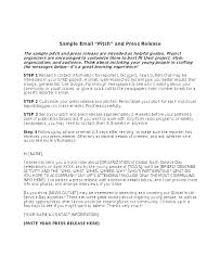 Business Press Release Template New Employee Press Release Template New Business Press