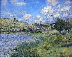 claude monet landscape vetheuil 1879 canvas art 35 x 47