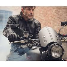 spidi tank leather jacket black ls1