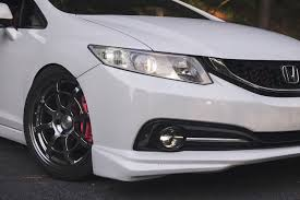 2016 Honda Civic Fog Light Assembly Honda Round Morimoto Xb Led