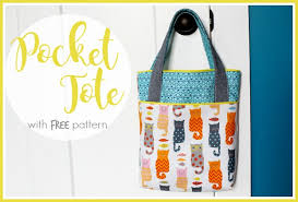 Tote Bag Sewing Pattern Gorgeous Tote Bag Sewing Patterns And Tutorials Sugar Bee Crafts
