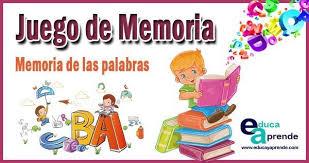 También tenemos juegos infantiles que destacan lal bebé hazel, strawberry shortcake, y pokemon. Juego De Memoria Para Ninos Memoria De Palabras