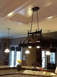 replacing fluorescent light fixture in kitchen with track lighting