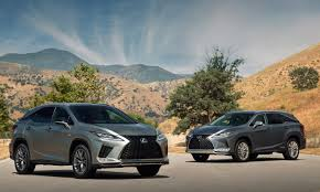 Lexus Suv Size Chart 2020 Lexus Rx And Rxl Open A New Chapter For The Iconic