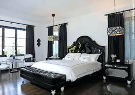 Black And White Master Bedroom White Master Bedroom Furniture Dark ...