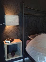 Lamp Nachtkastje Steigerhout Op Eigen Houtje Meubels