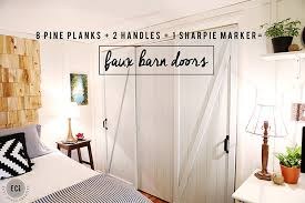 diy barn doors 3 wm sm