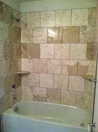 re tile shower tiling tile shower niche trim