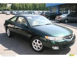 2000 Fairway Green Pearl Toyota Solara SE V6 Coupe #13227464 Photo ...