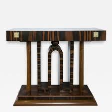 art deco furniture. stunning pair art deco console tables furniture