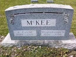 Myrna May Gordon McKee (1886-1958) - Find A Grave Memorial