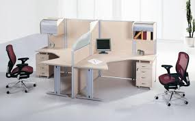 double office desk. white polished wooden office desk double