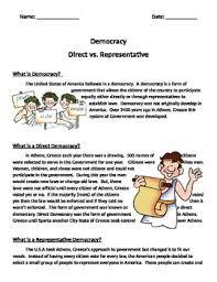 direct and representative democracy venn diagram representative democracy teaching resources teachers pay teachers