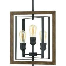 Image Chandelier Palermo Grove 14 In 3light Gilded Iron Pendant Home Depot Industrial Lighting The Home Depot