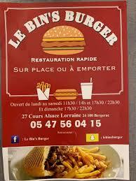 Bins Burger Home Facebook