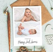 Sample Baby Announcement Sample Birth Announcement Thank You Card Newborn Announcement Card