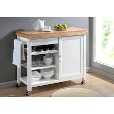 kitchen island cart white. Ideas Butcher Block Kitchen Island Cart White