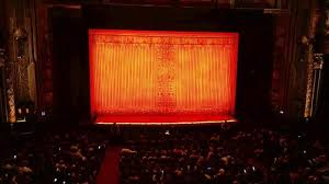 Hollywood Pantages Theatre Section Mezzanine C Row A