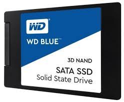 Твердотельный <b>накопитель Western Digital WD</b> BLUE 3D NAND ...