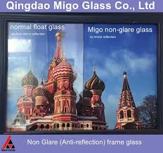 non glare conservation picture framing glass