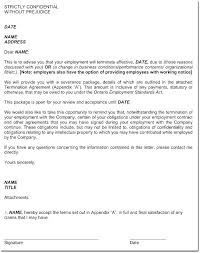 At Will Employee Termination Letter Free Termination Letter Template ...