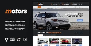 Motors V2 3 Car Dealership Wordpress Theme Free Download