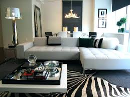black and white zebra rug print uk