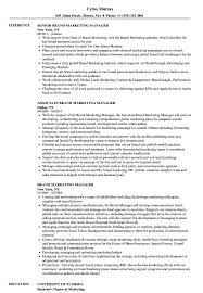Marketing Manager Resume Samples Brand Marketing Manager Resume Samples Velvet Jobs 2